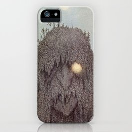 """Forest Troll - Skogtroll"" by Theodor Kittelsen iPhone Case"