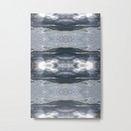 Lake Michigan - Frozen Beach - Northern Michigan - Up North - frozen waves - Frankfort Metal Print