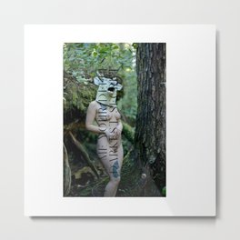 Dark Secret Dear Metal Print