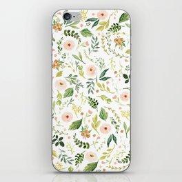 Botanical Spring Flowers iPhone Skin
