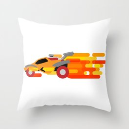 Octane Boost Throw Pillow