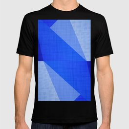 Lapis Lazuli Shapes - Cobalt Blue Abstract T-shirt