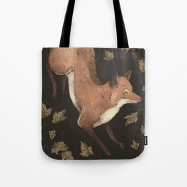 The Fox and Ivy Tote Bag