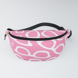 Smart Glasses Pattern - Pink Fanny Pack