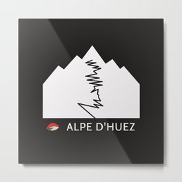 ALPE D'HUEZ Metal Print