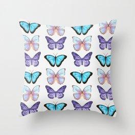 Dreamy Butterflies Throw Pillow