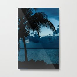 Bahamian Sundown Metal Print