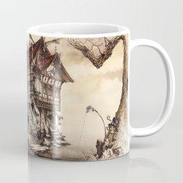 Steampunk Landscape Coffee Mug