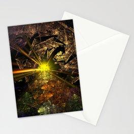 Machu Picchu 3D Fractal Stationery Cards