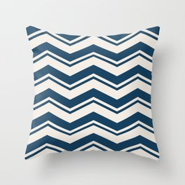 SIMPLE CHEVRONS 01 Throw Pillow