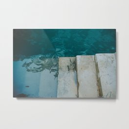 The Floating blue city - Venice, Italy architecture photography | Framed art print Metal Print