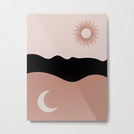 The Sun, The Moon, The Air Metal Print
