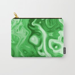 malachite natural rock abstract Carry-All Pouch