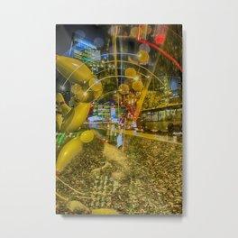 City at night Metal Print