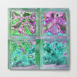 505 - Abstract Glass Design Metal Print