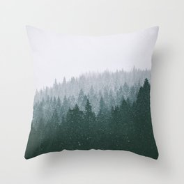 Winter VII Throw Pillow