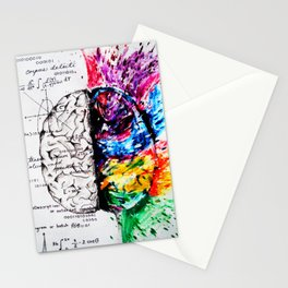 Conjoined Dichotomy Stationery Cards