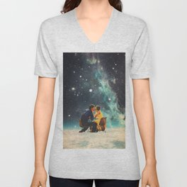 I'll Take you to the Stars for a second Date Unisex V-Neck