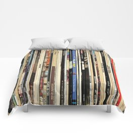 Classic Rock Vinyl Records Comforters