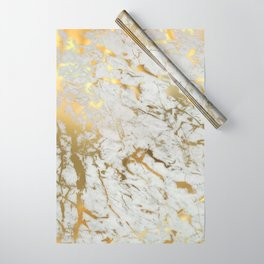 Gold marble Wrapping Paper