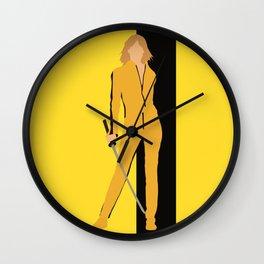 Kill Bill movie Wall Clock