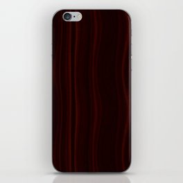 Mahogany Wood Texture iPhone Skin
