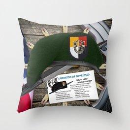 3rd SFG(A) Throw Pillow
