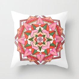skyflower 3 Throw Pillow
