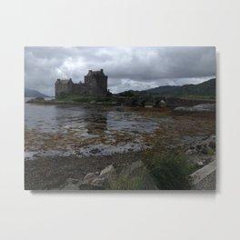 Eilean Donan Castle in Scotland Metal Print