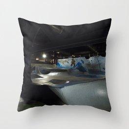 Burnside Skatepark Throw Pillow