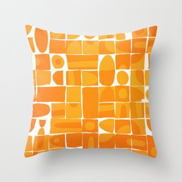 Modern Disarray Throw Pillow