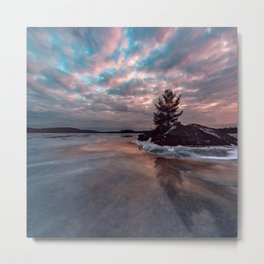 Cotton Candy Above Metal Print