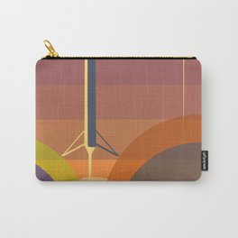Falcon 9 Launch minimalist  Carry-All Pouch