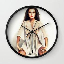 Jane Seymour, Actress Wall Clock
