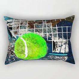 Tennis art print work 15 Rectangular Pillow