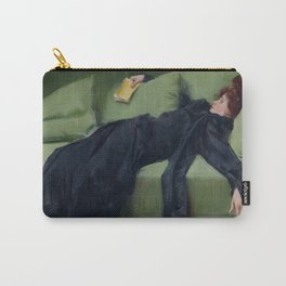 A DECADENT GIRL - RAMON CASAS Carry-All Pouch