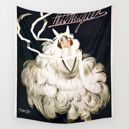 Vintage French poster - Cappiello - Mistinguett Wall Tapestry