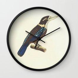 Rufous-Bellied Kookaburra8 Wall Clock