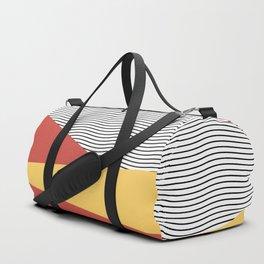 Eighties pop pattern Duffle Bag