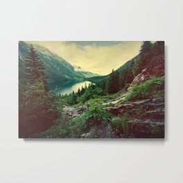 Lake In Mountains Metal Print