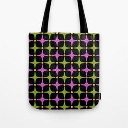Mid Century Modern Star Pattern 925 Tote Bag