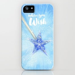 When you wish iPhone Case