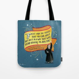 I Dissent: Fight Tote Bag