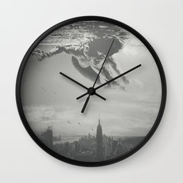 Invisible Cities Wall Clock