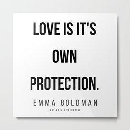 20      Emma Goldman Quotes   200602 Metal Print