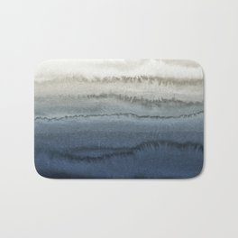 WITHIN THE TIDES - CRUSHING WAVES BLUE Bath Mat