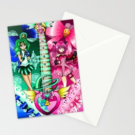 Sailor Mew Guitar #50 - Sailor Neptune & Mew Ichigo Stationery Cards