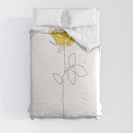 Lemon Rose Comforters