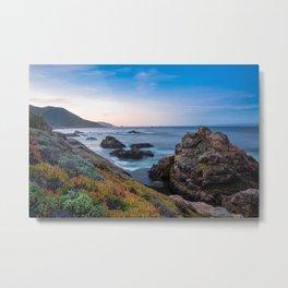 Coastline - The Beauty of Big Sur at Sunrise Metal Print