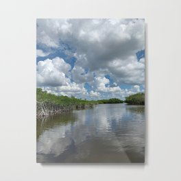 Everglade Sky Metal Print